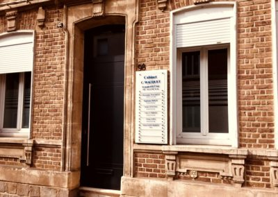 Façade du Cabinet d'Amiens