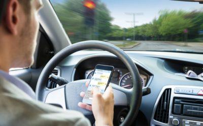 Quid des nouvelles dispositions répressives pour l'usage du téléphone au volant.